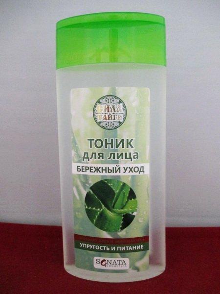 Тоник для лица зеленый чай